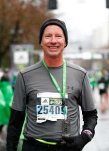 Middle Age Marathoner Shamrock Run
