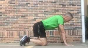 Kick Back Glute Strength Exercise