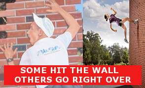 How to avoid htting the wall