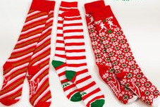 Holiday Running Socks