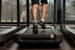 Marathon Training on a treadmill