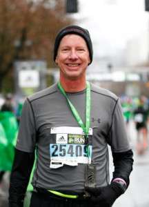 Middle Age Marathoner Shamrock Run