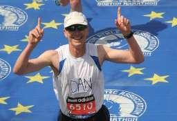 Motivated Boston Marathon Runner