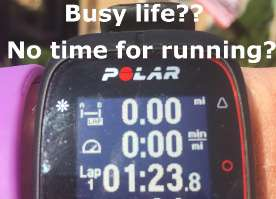 How to find time to run