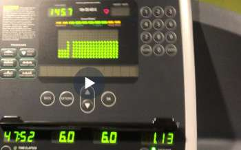 winter treadmill training for runners