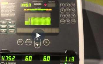 winter treadmill training for runners
