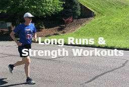 Long runs for marathon training