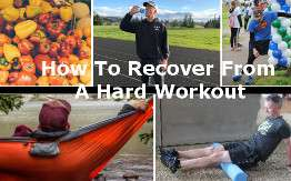 How I recover on the day of a hard workout [Follow-Along Week 11]