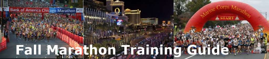 Fall Marathon Training