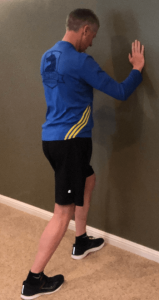 Standing Calf Stretch calf injury prevention